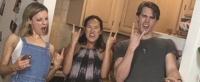 Backstage Bite with Katie Lynch: ROCK OF AGES' CJ Eldred & Kirsten Scott Blow The Roof Off The Kitchen