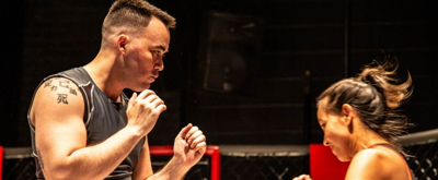 Photo Flash: GIRL IN THE RED CORNER At Know Theatre