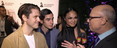 BWW TV: Stars of MOULIN ROUGE! HADESTOWN & More Celebrate Grammy Nominations!
