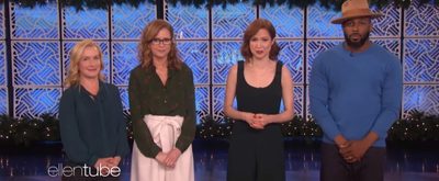 VIDEO: Jenna Fisher, Angela Kinsey, and Ellie Kemper Play Heads Up on THE ELLEN SHOW