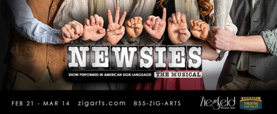 BWW Interview: The Directorial Team Behind The Ziegfeld Theater's ASL and Spoken English Production of NEWSIES