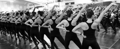 Photo Flash: The Radio City Rockettes Prepare For THE CHRISTMAS SPECTACULAR!