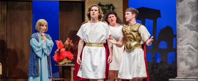 Review: An Elderly Patron and I Disagree About BEN-HUR: AN EPIC COMEDY! at Garden Theatre