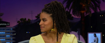 VIDEO: Zazie Beetz Talks About Sneaking Food Into the Movies on THE LATE LATE SHOW WITH JAMES CORDEN