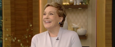 VIDEO: Julie Andrews Talks About Her MARY POPPINS Stunts on LIVE WITH KELLY AND RYAN!