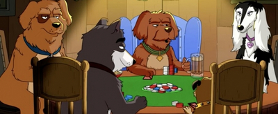 VIDEO: Watch a Clip From FOX's DOGS PLAYING POKER