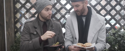 VIDEO: Matt Mucha and Taylor Okey Eat Like Sharks and Jets on SECOND ACT SNACKS Video