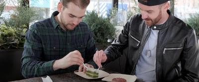 VIDEO: Matt Mucha and Taylor Okey Snack on Audrey II on SECOND ACT SNACKS Video
