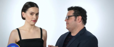 VIDEO: Josh Gad Tries To Get Daisy Ridley To Reveal STAR WARS Secrets on GMA