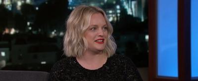 VIDEO: Elisabeth Moss Talks Bill Murray, Jennifer Aniston & The Invisible Man on JIMMY KIMMEL LIVE!