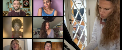VIDEO: Caissie Levy, Ariana DeBose, Solea Pfeiffer and More Sing 'Words of Love' for Geffen Stayhouse