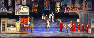 VIDEO: Kendra Kassenbaum, Jordan Gelber, Kevin Kahoon and the Cast of GUYS AND DOLLS Reunite for Muny Cast Party