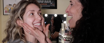VIDEO: Mom Does My Stage Makeup on The Dressing Room with Jamie Glickman! Video