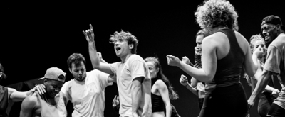 Photo Flash: Inside Rehearsal For BACK TO THE FUTURE the Musical
