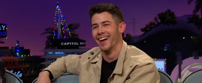 VIDEO: Nick Jonas Talks About His Dog's Instagram Feuds on THE LATE LATE SHOW