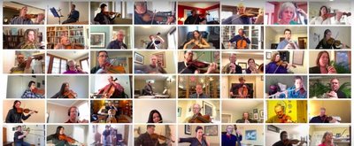 VIDEO: Milwaukee Symphony's Virtual Orchestra Performs Elgar's