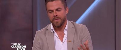 VIDEO: Derek Hough Has Dancing Tips for Tyra Banks on THE KELLY CLARKSON SHOW Video