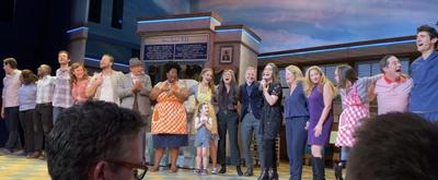VIDEO: WAITRESS Takes Its Final Broadway Bow