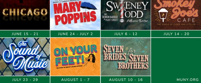 Muny Announces 2020 Season Featuring ON YOUR FEET, MARY POPPINS, SWEENEY TODD & More!