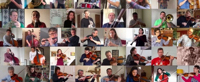 VIDEO: National Orchestra of France Performs Socially-Distanced 'Bolero'