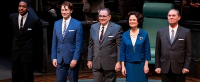 BWW TV: Go Inside Opening Night of THE GREAT SOCIETY with Brian Cox and More!