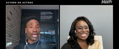VIDEO: Billy Porter & Uzo Aduba Have an 'Actors on Actors' Conversation! Video