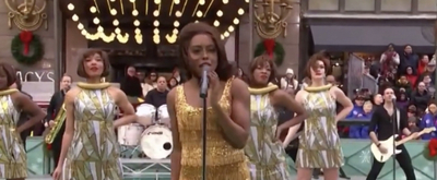 VIDEO: Watch Adrienne Warren and the cast of TINA - THE TINA TURNER MUSICAL Perform During the Macy's Parade