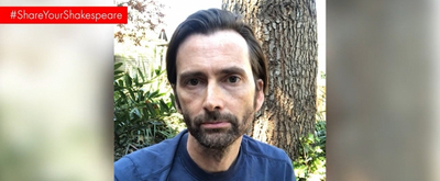 VIDEO: David Tennant and More in Royal Shakespeare Company's #ShareYourShakespeare Campaign