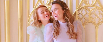 VIDEO: Behind the Scenes of the FROZEN Photoshoot With Samantha Barks and Stephanie McKeon