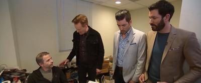 VIDEO: Conan Asks The Property Brothers To Renovate Jordan Schlansky's Office