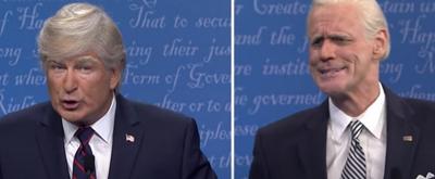 VIDEO: SATURDAY NIGHT LIVE Tackles the Presidential Debate With Alec Baldwin's Trump and Jim Carrey's Biden
