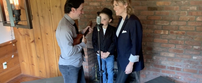Living Room Concerts: MOULIN ROUGE's Robyn Hurder and Family Sing Lullabies!