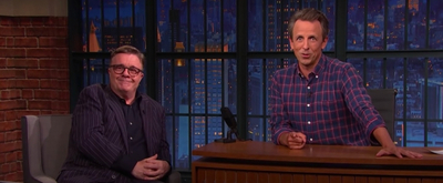 VIDEO: Seth Meyers Pitches A New Broadway Musical to Nathan Lane