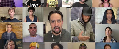 VIDEO: Original HAMILTON Cast Members Perform 'The Room Where It Happens' at Joe Bide Video