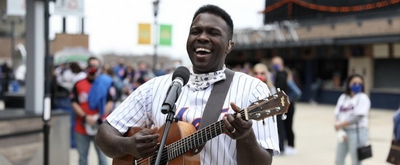 VIDEO: Joshua Henry Performs National Anthem at Mets Opening Weekend