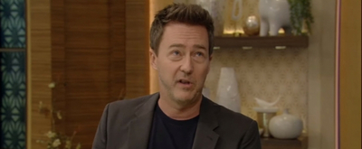 VIDEO: Edward Norton Talks About Working With Nonprofits on LIVE WITH KELLY AND RYAN!