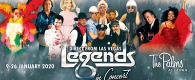 LEGENDS IN CONCERT Now On Sale In Melbourne