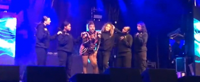 VIDEO: SIX Hits The Stage To Kick Off The Manchester Christmas Lighting