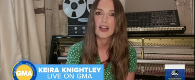 VIDEO: Keira Knightley Reflects on 15 Years of PRIDE & PREJUDICE on GOOD MORNING AMERICA