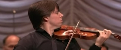 Video Flashback: Joshua Bell Performs Violin Works at Lincoln Center