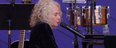 VIDEO: Carole King Sings 'Beautiful' at The Global Citizen Festival