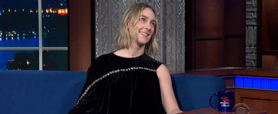 VIDEO: Saoirse Ronan Talks LITTLE WOMEN on THE LATE SHOW WITH STEPHEN COLBERT