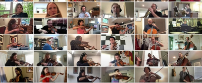 VIDEO: Members of the NSO Perform Beethoven Symphony No. 7, 'Allegro Con Brio' as Part of NSO @ HOME