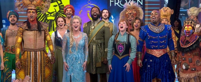 VIDEO: THE LION KING, ALADDIN, and FROZEN Perform Special Mash-Up on GMA