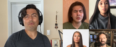 VIDEO: Cast of World Premiere Native American Musical, DISTANT THUNDER Performs 'Hold On'