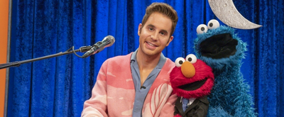 VIDEO Ben Platt Sings with Cookie Monster on the NOT-TOO-LATE SHOW