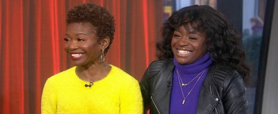 VIDEO: LaChanze & Celia Rose Gooding Talk Making History on Broadway on TODAY