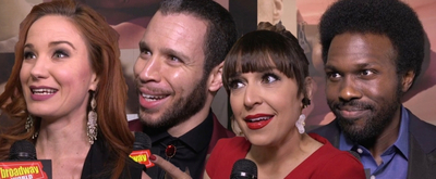 BWW TV: What Does WEST SIDE STORY Mean to You? Broadway Stars Answer on the Opening Night Red Carpet!
