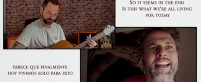 "STAGE TUBE: Gerónimo Rauch interpreta ""Is this the world we created?"" desde casa"