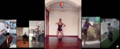 VIDEO: Cape Town City Ballet Performs LOCKDOWN WALTZ